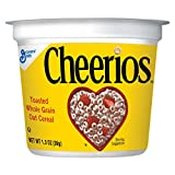 Cheerios Cup Cereal, 1.3 Oz (Pack of 60)