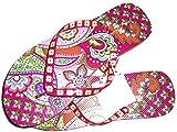 Vera Bradley Women's Flip Flop (small 5/6, Pink Swirls)
