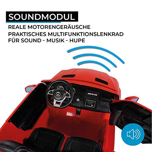 RC Kinderauto kaufen Kinderauto Bild 1: Actionbikes Motors Kinder Elektroauto Mercedes GLS63 - Lizenziert - 4 x 45 Watt Motor - Ledersitz - Eva Vollgummireifen (Rot)*