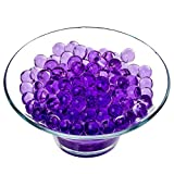 Trimming Shop 2500pcs Agua Bolas para Planta Jarrón Relleno,Decoración,Centros - Pack de 2500, Purple