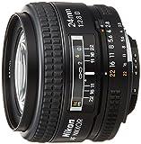 Nikon 24mm f/2.8D AF Nikkor - Objetivo (24 mm, 64.5 mm, Negro, 52 mm, 270 g, 64.5 x 46 x 64.5 mm)