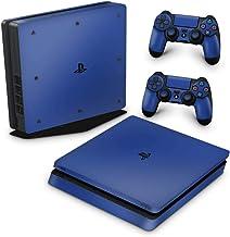 Skin Adesivo para PS4 Slim - Azul Escuro