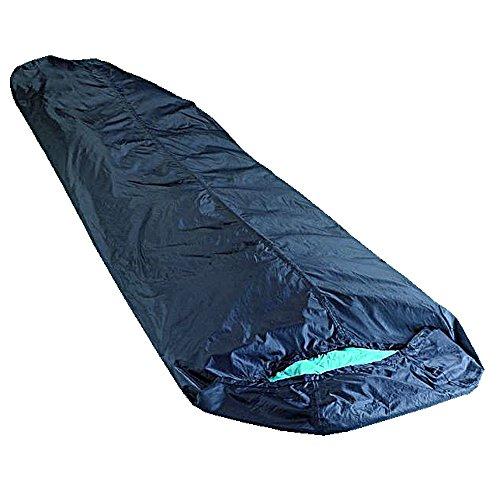 Trekmates Bivvi Bag - Schlafsack Cover wasserfester Überzug schwarz 330g