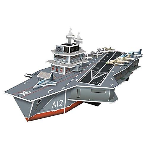 Puzzle 3D CubicFun S?rie Kid - Porte-avions Charles de Gaulle
