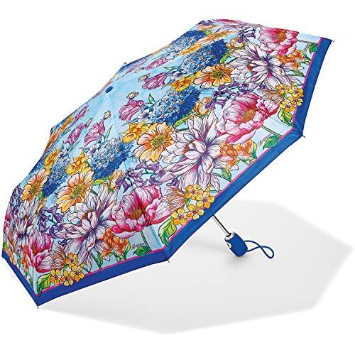 Brighton Enchanted Garden Umbrella, Multicolored