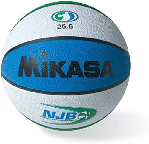 Mikasa Nationaler Junior Basketball Official Game Ball Rubber Cover, Größe 5  Mikasa Sports