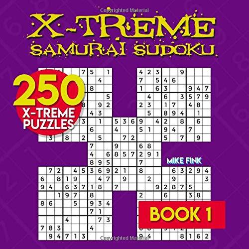 X-Treme Samurai Sudoku. Book 1