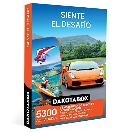 DAKOTABOX - Caja Regalo hombre mujer pareja idea de regalo - Siente el desafío - 5300 actividades como conducción en...