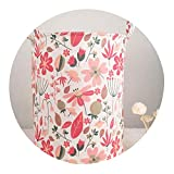 Flowers Waterproof Laundry Hamper Clothes Storage Baskets Home Clothes Barrel Bags Kids Toy Organizer Storage Laundry Basket