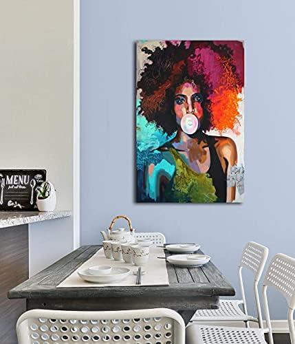 Afro wall art _image1