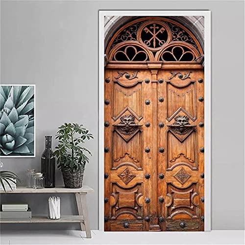 Sala de Estar Etiqueta de la Puerta de Entrada Diseño Moderno Florista Labio Papel Pintado Autoadhesivo Vinilo Muebles Armario Renovación Deca A9 95x215cm