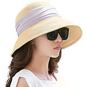 34222bbb7a4 Packable Straw Hat