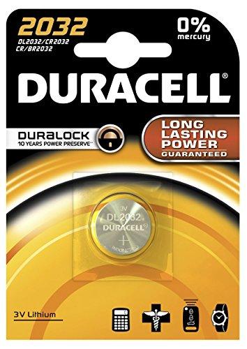 Duracell électronique 2032 Lithium-ION (Li-ION) 3 V Non-Rechargeable Battery – Non-Rechargeable Batteries (Lithium-ION (Li-ION), 3 V)