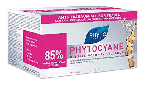 Phyto Phytocyane Revitalising dünner werdendes Haar Treatment 12 x 7,5 ml