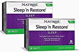 Natrol Sleep N Restore Tablets, 20 Count (Pack of 2)