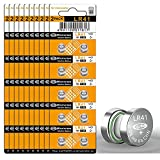 100pcs AG3 LR41 192 392 L736F Battery Alkaline 1.5V Button Coin Cell Battery for Digital Thermometer, Laser Pointer, Laser Bore Sighter, Toys, Watches, Flamless Candles, Christmas Ddecorations