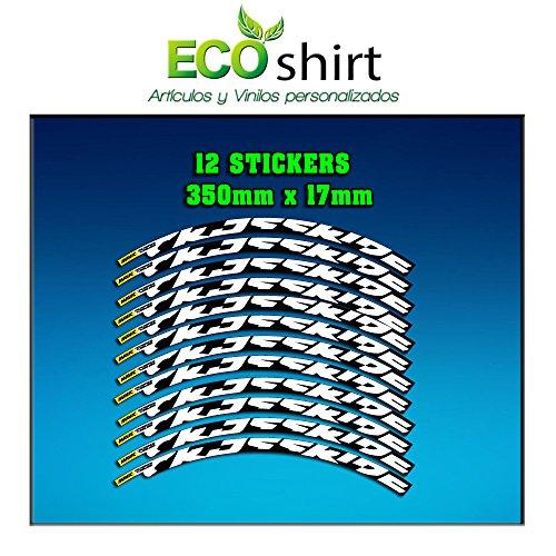 Ecoshirt AP-6Q6P-X7RI Aufkleber Stickers Felge Rim Crossride 2016 26