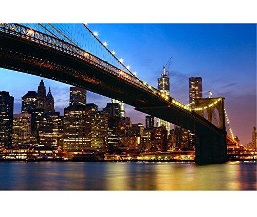 Black Temptation Rompecabezas de Madera 1000 Piezas - Puente de Brooklyn