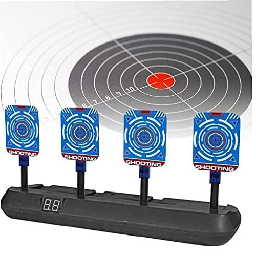 nerf automatico Target di Tiro Elettronico Punteggio di Ripristino Automatico di Ripristino Digitale per Giocattoli di Pistole Nerf