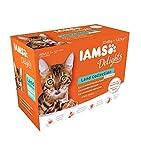 Iams Delights - Multipack, Alimento Umido per Gatti Adulti,...