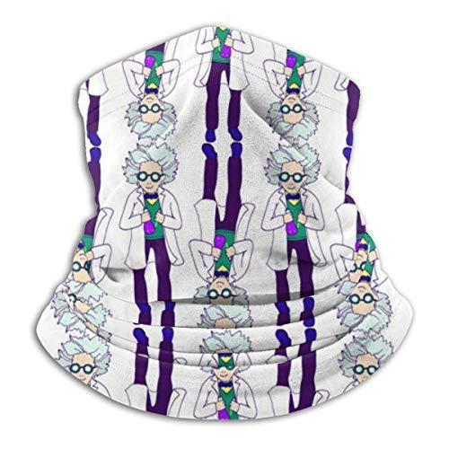 N / A Personaje Caricaturizado Brillante Cuello Pañuelo Viento Polvo Prueba Pasamontañas Protección UV Sombreros Antideslizante Bufanda para Mujer Hombre
