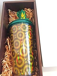 STARBUCKS スターバックス ギフトボックス プレゼント プラスチックタンブラー パイナップル コールドカップ 473ml コールドカップ グランデサイズ スタバ