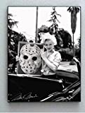 Framed Marilyn Monroe Holding Friday The 13th Jason Voorhees Poster Faux Signed Autograph Limited Edition Print