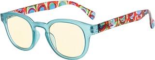 Eyekepper UV Protection, Anti Glare,Anti-reflective Womens Eyeglasses (Blue, Yellow Tinted Lenses)