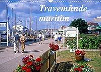 Travemuende maritim (Wandkalender 2022 DIN A3 quer): Attraktives Seebad Travemuende an der Ostsee (Monatskalender, 14 Seiten )