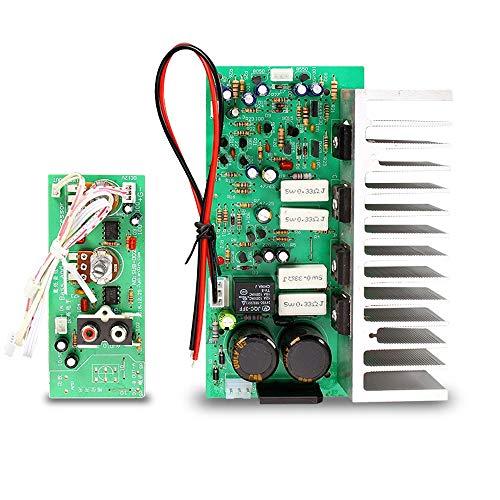 WNJ-TOOL, 1Set 350W Subwoofer-Verstärkerplatine Dual AC24-28V Mono Audio Power Subwoofer Verstärkerplatine 10-12inch Subwoofer Lautsprecher Ampere