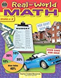 Real-World Math, Grades 5-8 from Teacher Created Resources