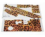 FUQUANDIAN Etiqueta engomada de impresión Leopard para GoPro Hero 4/3 + / 3 Cámara de acción Deportiva Accesorios de Soporte
