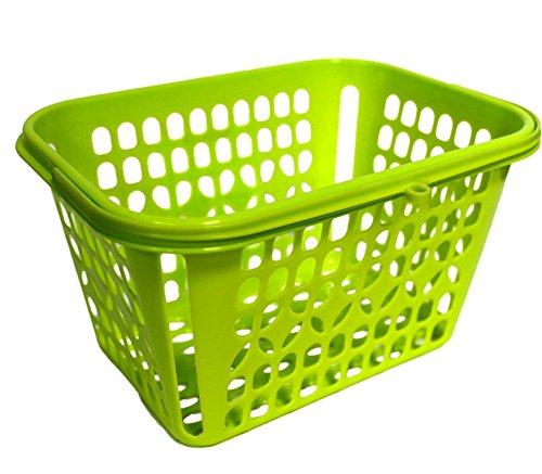 Cesta de plástico Verde para Las Pinzas de la Ropa