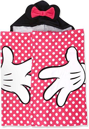 Minnie Minnie Jungen Classic Dots Strandtuch, Rosa (Pink 2), One Size