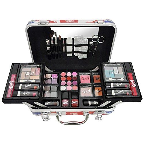 Gloss! Makeup Case - London Fashion, 1er Pack (1 x 62 Stück) Geschenk-Box - Make-up Kit