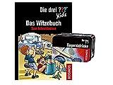 Livre de blague pour enfant avec inscription en allemand « Die DRII ?? »