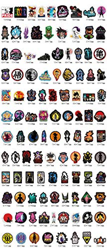 ahliwei Sticker Seven Dragon Ball Cartoon Cartoon Suitcase Sticker Waterproof Sunscreen Sticker Electric Car Notebook Skateboard. 108 do not repeat.