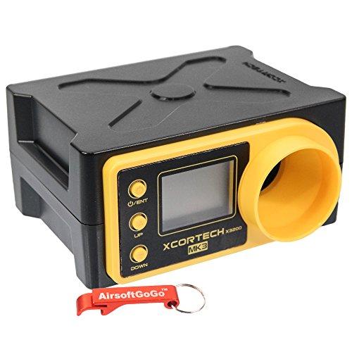 AirsoftGoGo X3200 MK3 Computer misuratore, portachiavi incluso