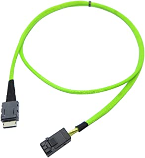 M Black M to 26 Pin 4X Mini SAS AddOn ADD-SFF8088-8088-0.5M SAS External Cable - 1.6 ft 26 Pin 4X Mini SAS