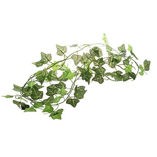 Cikuso R Garten Inneneinrichtungen Kuenstliche Pflanze, Gruene, Efeu-Blaetter Reben Laub Kuenstliche Blumen Blaetter