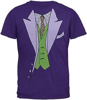 Bioworld Men's Dark Night Joker Tuxedo Tee