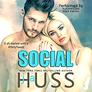 Social: The Social Media Series, Books 1-3 audiobook cover art