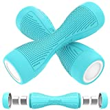 Adjustable Dumbbells Weights Set, Body Sculpting Hand Weights Dumbbell Pair, Set of 2 with Anti-Slip Handle for Women, Elders, Kids, Home Workout Fitness, 4.4lbs Each, 8.8lbs Pair (Blue (4.4 LB x 2))