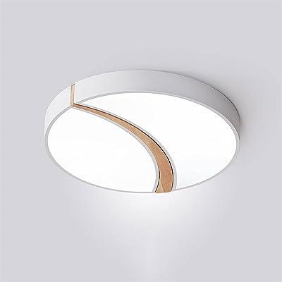LPFWSK Lumière blanche (6000K) Plafonnier ronde, lampe à économie d'énergie de couleur de macaron ultra-mince, montage encastré, plafonniers de plafond, style simple et moderne luminaire de plafond dé