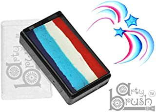 Silly Farm Rainbow Cakes - 4th of July Arty Brush Cake (20 g)