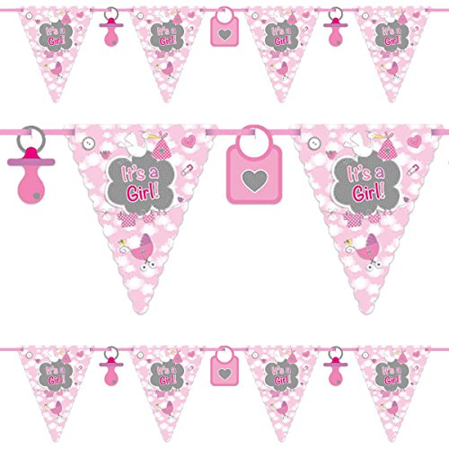 Folat Flagbanner It's a Girl 6mtr