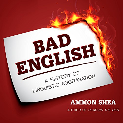 Bad English audiobook cover art