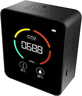 CO2-meter voor binnen, CO2 Luchtdetector, Draagbare CO2-detector (F)