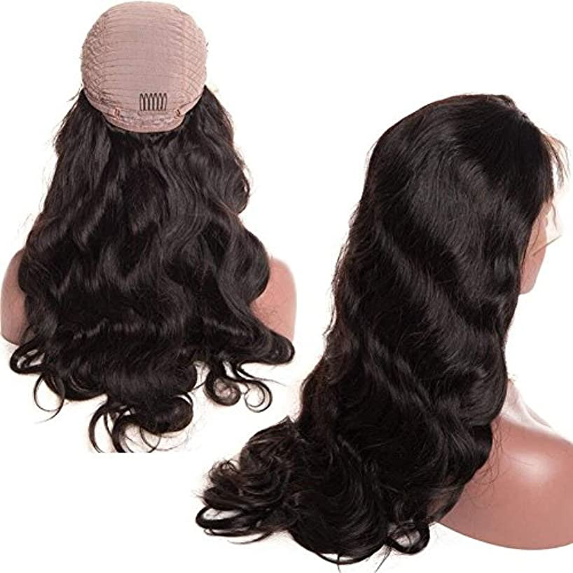 Younsolo Body Wave Lace Front Wigs Pre Plucked Brazilian Virgin Human Hair Wigs Natural with Baby Hair for Black Women 20 inch