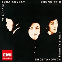 Chung Trio - Tchaikovsky: Piano Trio 'to The Memory Of A Great Artist' [Japan LTD HQCD] TOCE-91038 by Chung Trio